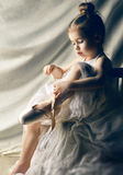 Baile agraciado Fotografía de archivo libre de regalías