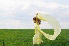Baile atractivo de la muchacha Fotos de archivo