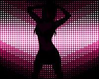 Baile atractivo de la muchacha Imagen de archivo libre de regalías