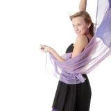 Baile con el viento Imagenes de archivo