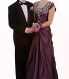 Baile de fin de curso o boda Imagen de archivo libre de regalías