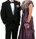 Baile de finalistas ou casamento Imagens de Stock