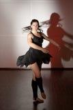 Baile de la bailarina Fotografía de archivo libre de regalías