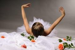 Baile de la bailarina Foto de archivo