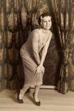 Baile de la Charleston Imagen de archivo libre de regalías