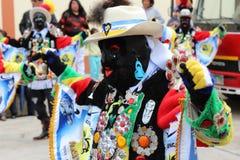 Baile de la fraternidad del Negritos Fotos de archivo