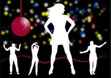 Baile de la gente ilustración del vector