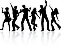 Baile de la gente Fotografía de archivo libre de regalías