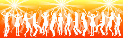 Baile de la gente Foto de archivo