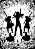 Baile de la gente en un partido Imagenes de archivo