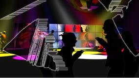Baile de la gente joven libre illustration