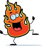 Baile de la llama libre illustration