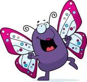 Baile de la mariposa Fotos de archivo libres de regalías
