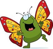 Baile de la mariposa ilustración del vector