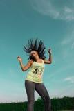 Baile de la muchacha Imagen de archivo libre de regalías
