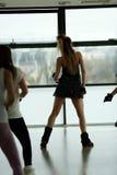 Baile de la muchacha Imagenes de archivo
