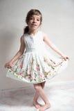 Baile de la muchacha Imágenes de archivo libres de regalías