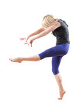 Baile de la mujer Foto de archivo