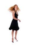 Baile de la mujer joven imágenes de archivo libres de regalías