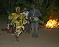 Baile de la noche Fotos de archivo