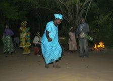 Baile de la noche Foto de archivo libre de regalías
