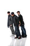 Baile de los hombres de Hip Hop Imagen de archivo