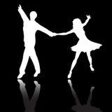 Baile de los pares ilustración del vector