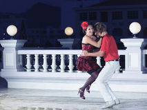 Baile de los pares Fotos de archivo libres de regalías