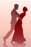 Baile de los pares Foto de archivo libre de regalías