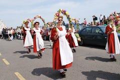 Baile de Morris del estorbo, Hastings Fotos de archivo