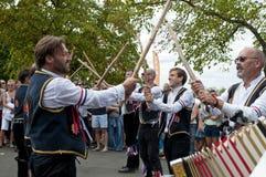 Baile de Morris, Londres, Reino Unido fotos de archivo