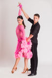 Baile de salón de baile Fotos de archivo libres de regalías