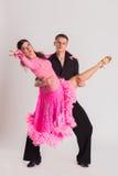 Baile de salón de baile fotografía de archivo libre de regalías