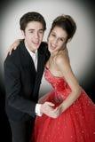 Baile de salón de baile Imágenes de archivo libres de regalías
