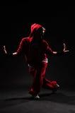 Baile del B-girl Imágenes de archivo libres de regalías