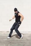 Baile del bailarín del salto de la cadera Fotos de archivo