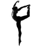Baile del bailarín del hombre Foto de archivo