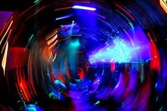 Baile del club de noche del disco Fotos de archivo