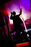Baile del club de noche del disco Fotografía de archivo libre de regalías