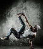Baile del freno del hombre Foto de archivo
