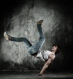 Baile del freno del hombre Imagen de archivo