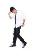 Baile del hombre joven Fotos de archivo libres de regalías