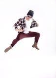 Baile del hombre joven Imagen de archivo