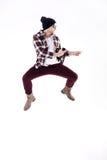 Baile del hombre joven Foto de archivo libre de regalías