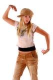 Baile del niño de la muchacha fotos de archivo