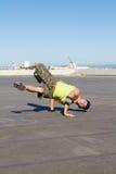 Baile del salto de la cadera Fotografía de archivo