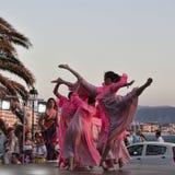 Baile el conjunto de Kyiv krainian en el ` s Internationa de los niños fotografía de archivo libre de regalías