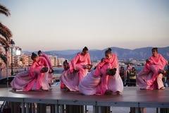 Baile el conjunto del ucraniano Kyiv en el international del ` s de los niños fotos de archivo libres de regalías