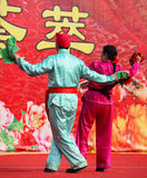 Baile en Año Nuevo chino imagen de archivo