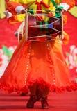 Baile en Año Nuevo chino Fotos de archivo
